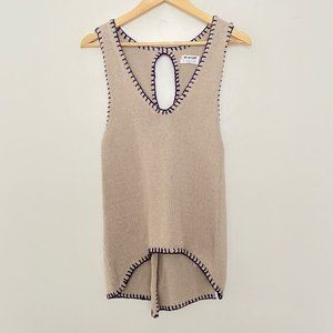 One X One Teaspoon Small Sleeveless Knit Vest